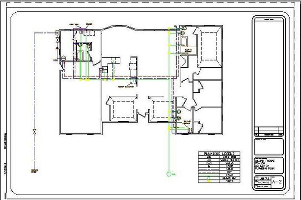 Autocad examples william thomas portfolio Residential building plan sample
